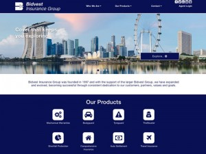 Bidvest Insurance Group Website